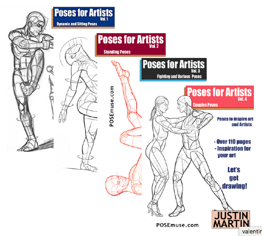 the complete book of poses for artists pdf