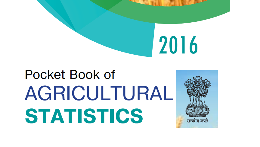 selected statistics on agriculture 2016 pdf