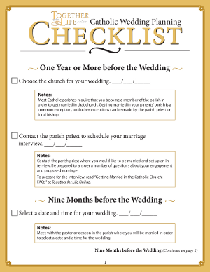 wedding planning guide checklist philippines