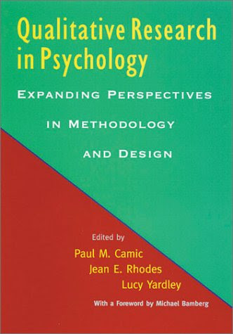 qualitative psychology a practical guide to research methods pdf