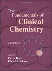 tietz fundamentals of clinical chemistry 5th edition pdf free download