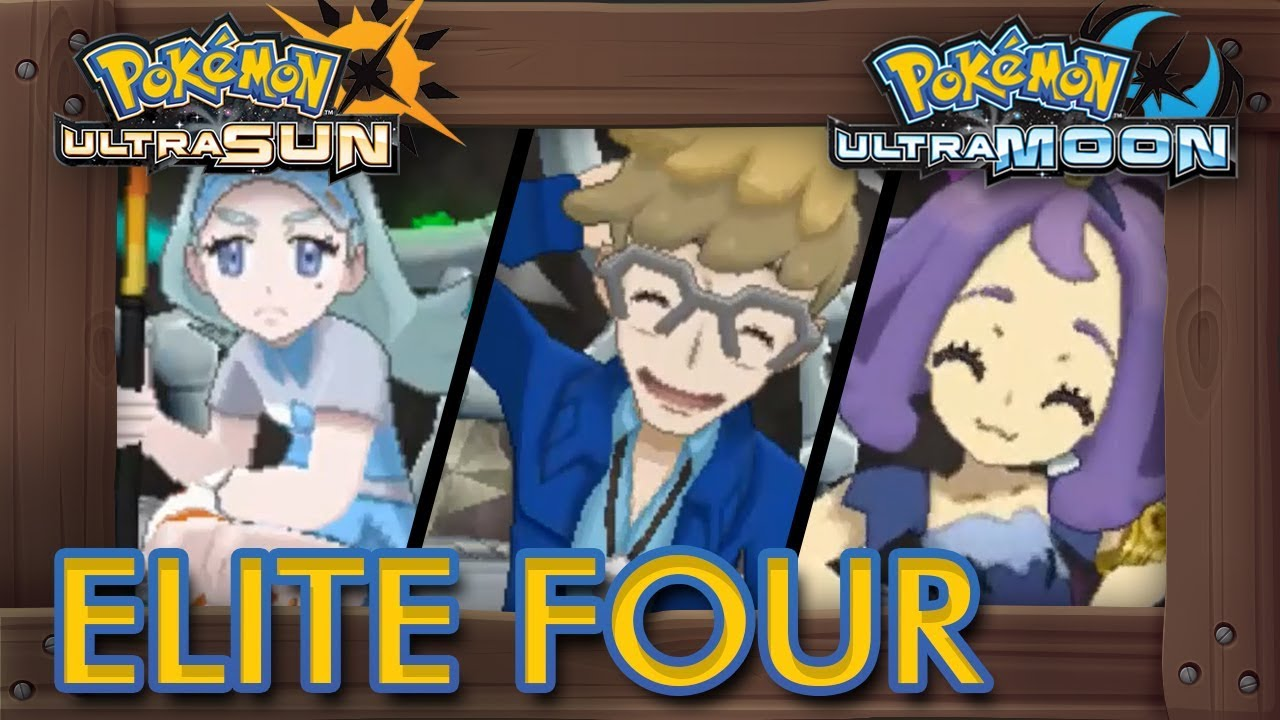 ultra sun elite four guide