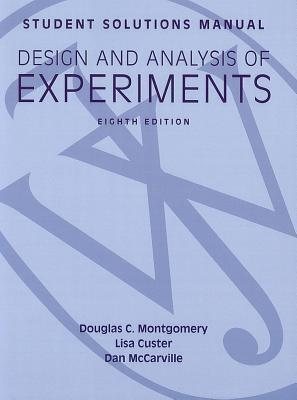 solutions manual design and analysis of experiments