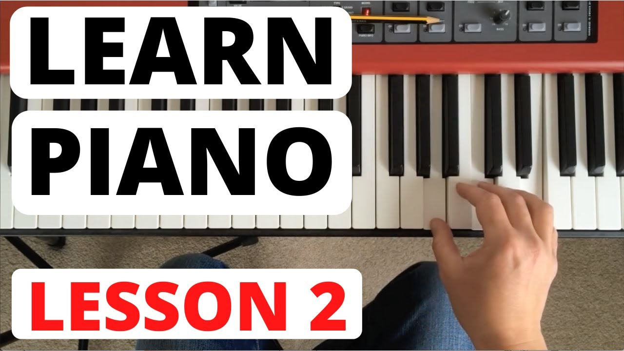 piano lesson pdf for beginners