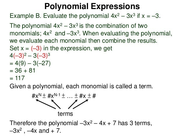 what is a polynomial with 4 terms called