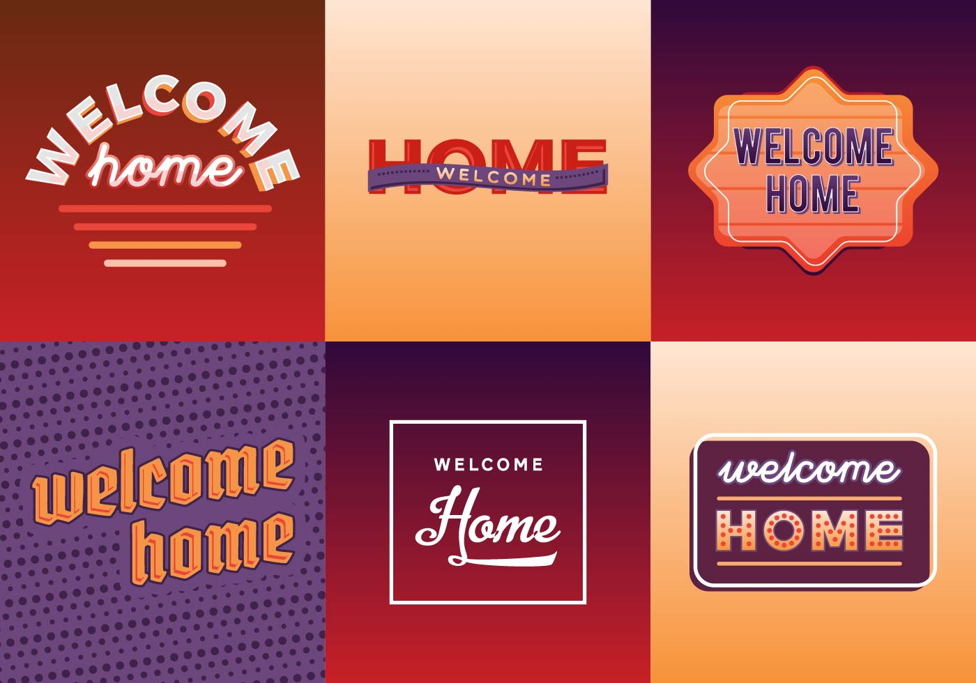welcome home and closed dictionary