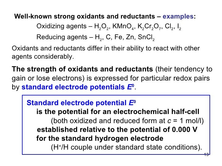 strength of electrode is expressed in terms of