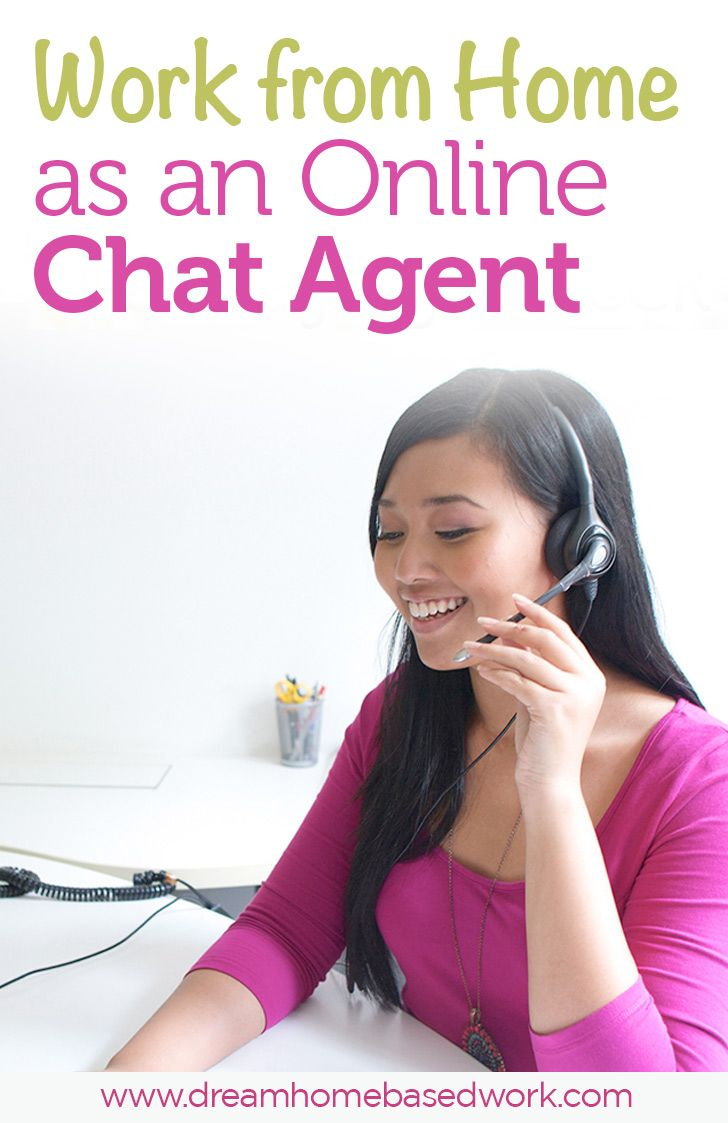 work from home chat support companies