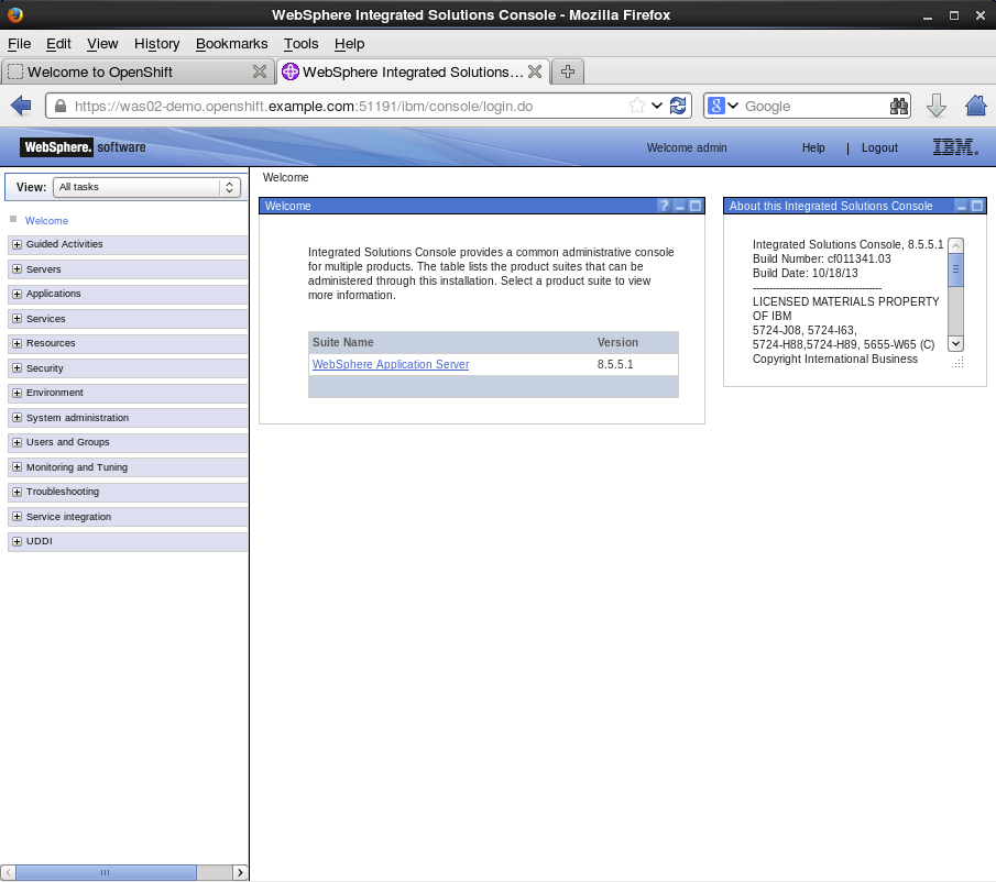 websphere application server enterprise tutorial