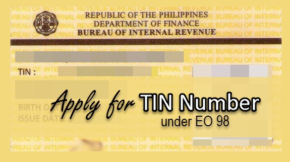 requirements for tin number application for employment