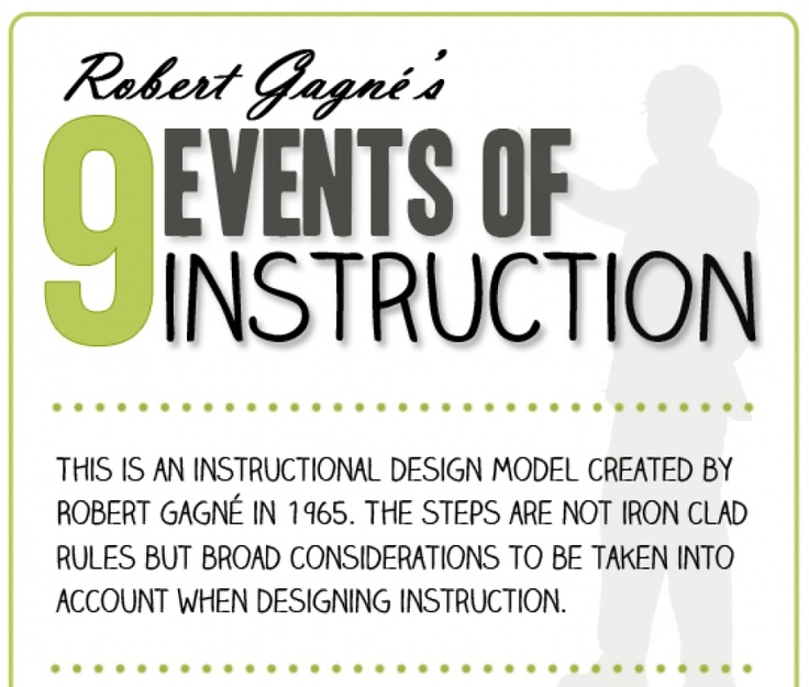 robert gagne sequence of instruction