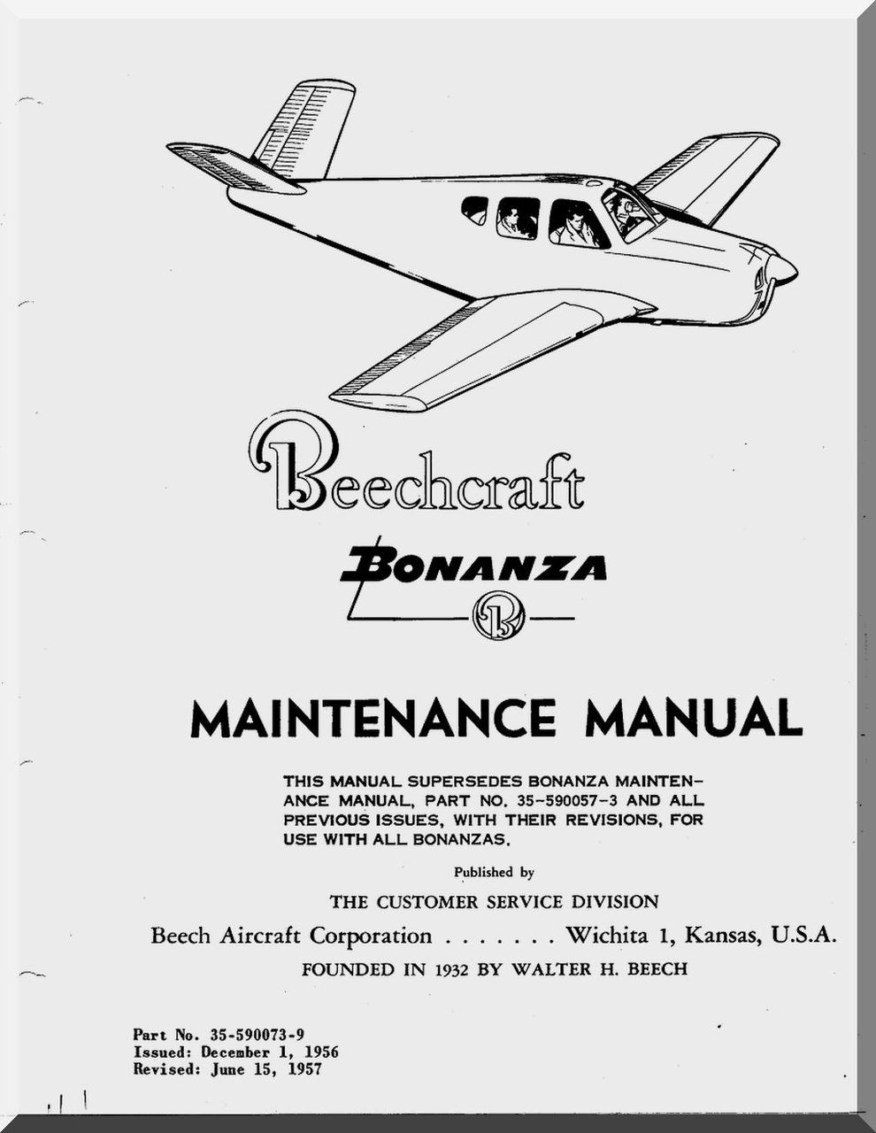 what are the different manual use in aircraft maintainance