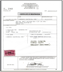 philippine coconut authority application for registration form