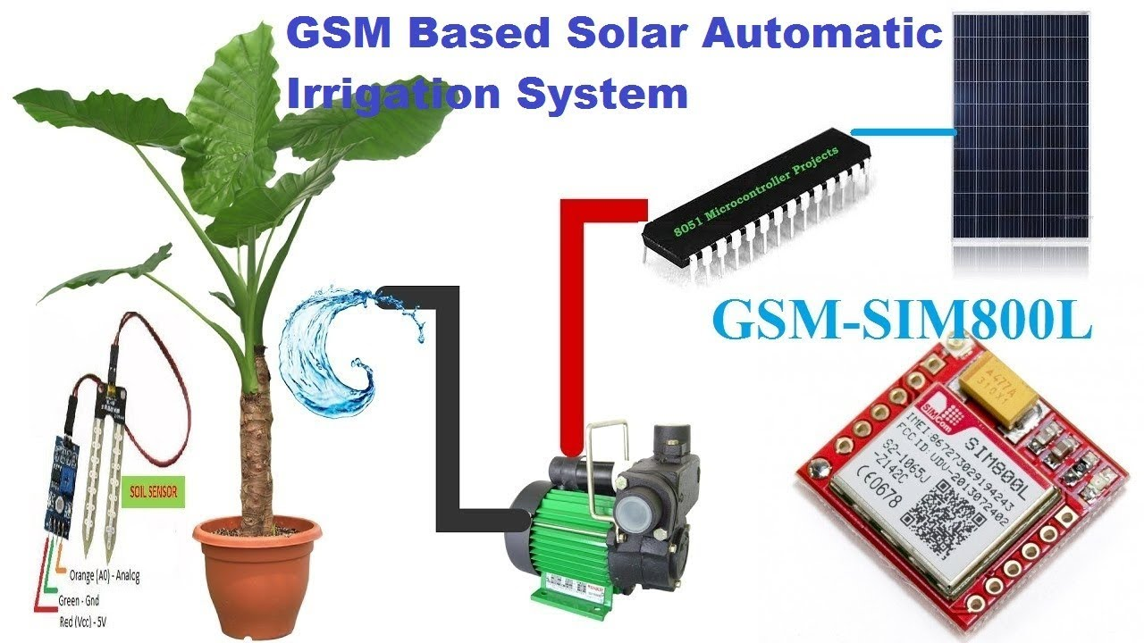 solar irrigation system project pdf