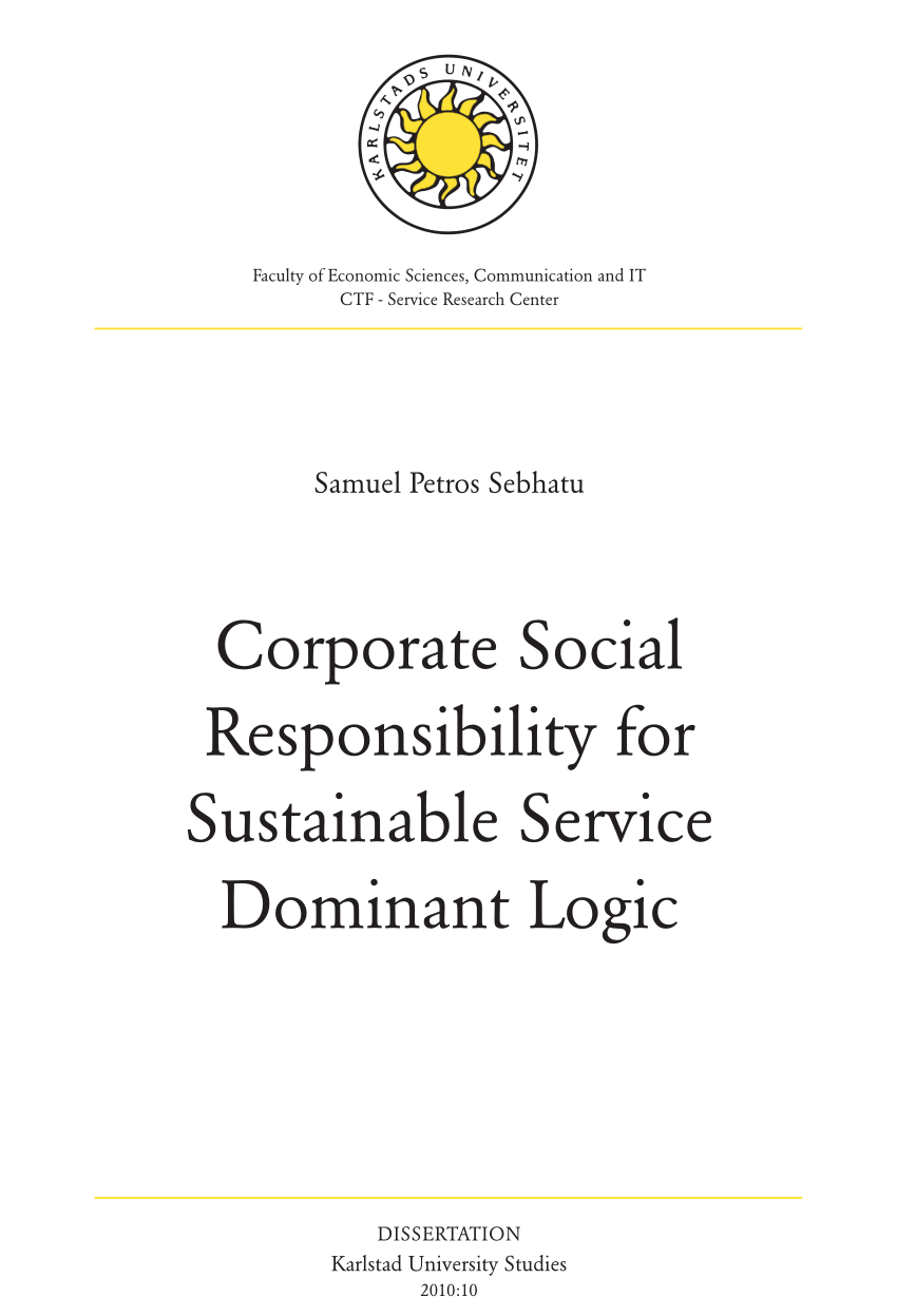 what is social responsibility pdf