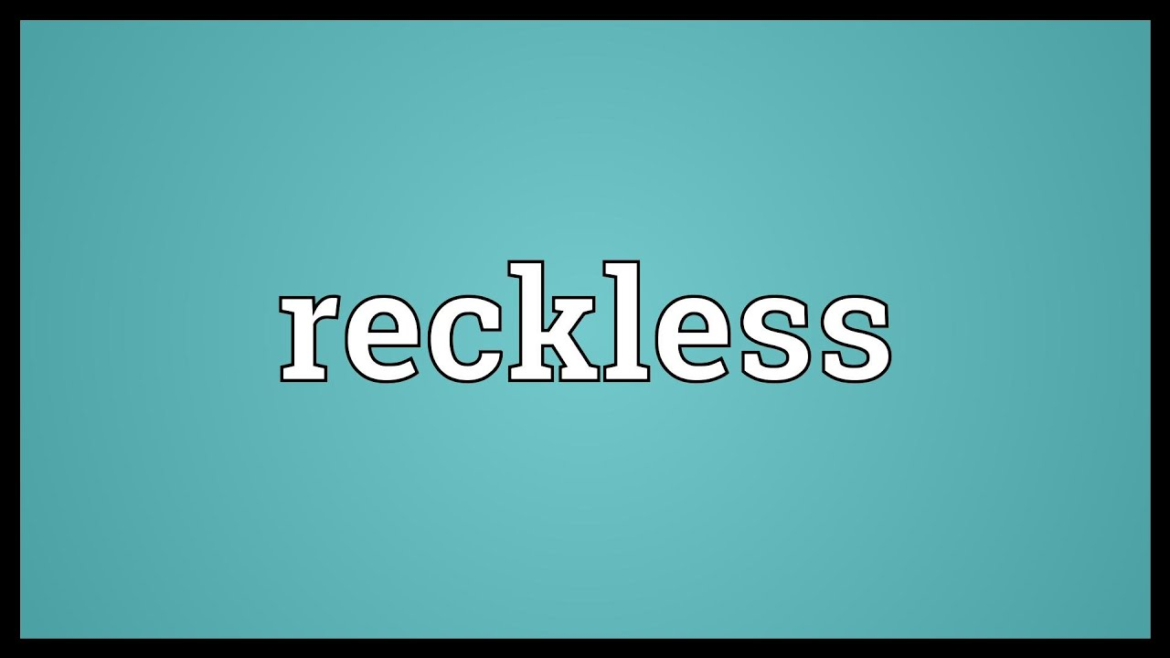 what is the meaning of careless in dictionary